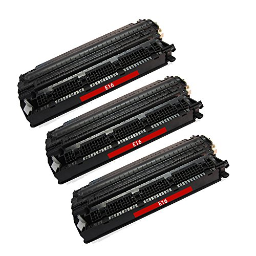 BavvoR Remanufactured Toner Cartridge for Canon E16 use in Canon FC-230 Printer - パック of 3 ブラック - ハイ Yield (海外取寄せ品)