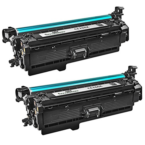 Speedy Inks - 2 パック Remanufactured リプレイスメント for HP 649X CE260X ハイ-Yield ブラック Laser Toner Cartridge for use in カラー LaserJet Enterprise CP4025dn, CP4025n, CP4525dn, CP4525n, CP4525xh (海外取寄せ品)