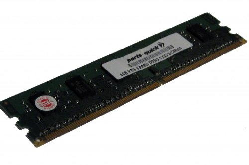 4GB Memory Upgrade for HP Pavilion p6-2347eg DDR3 PC3-10600 1333MHz DIMM Non-ECC デスクトップ RAM (PARTS-クイック BRAND) (海外取寄せ品)