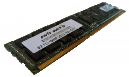 8GB Memory Upgrade for Quanta STRATOS Motherboard S210-MBT2W DDR3 1333MHz PC3-10600 ECC レジスター Server DIMM (PARTS-クイック BRAND) (海外取寄せ品)