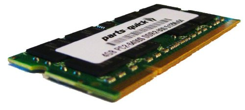4GB Memory Upgrade for TOSHIBA SATELLITE A300-1QG DDR2 PC2-6400 800MHz Laptop SODIMM RAM (PARTS-クイック BRAND) (海外取寄せ品)