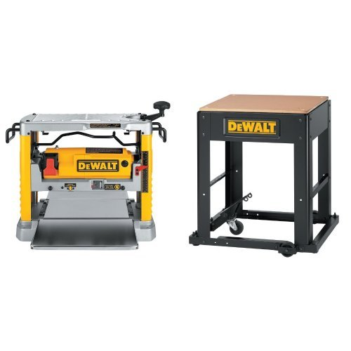 DEWALT DW734 15 Amp 12-1/2-インチ Benchtop Planer with Planer Stand with Integrated Mobile Base (海外取寄せ品)