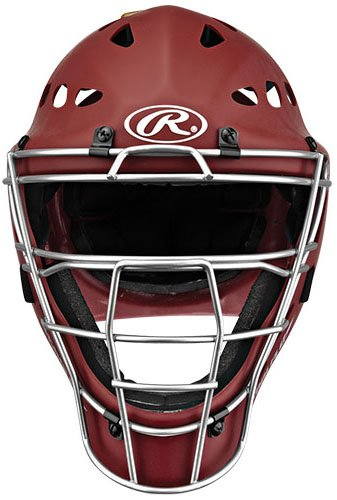 Rawlings Youth Catchers ヘルメット, マット Cardinal (海外取寄せ品)