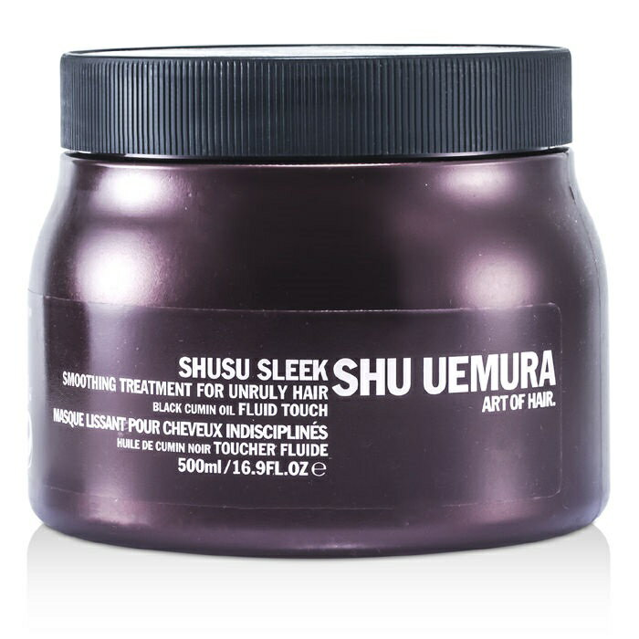 Shu UemuraShusu Sleek Smoothing Treatment Masque (For Unruly Hair) (Salon Product)シュウウエムラシュシュ スリーク スムージング トリートメント マスク (サロン専売品) 500ml/16.9oz【楽天海外直送】