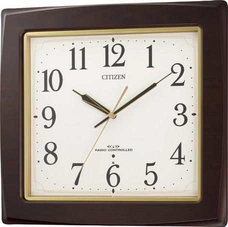 掛け時計 メンズ レディース 時計 シチズン電波掛時計 ネムリーナアスカ 8MY455-006 シチズン