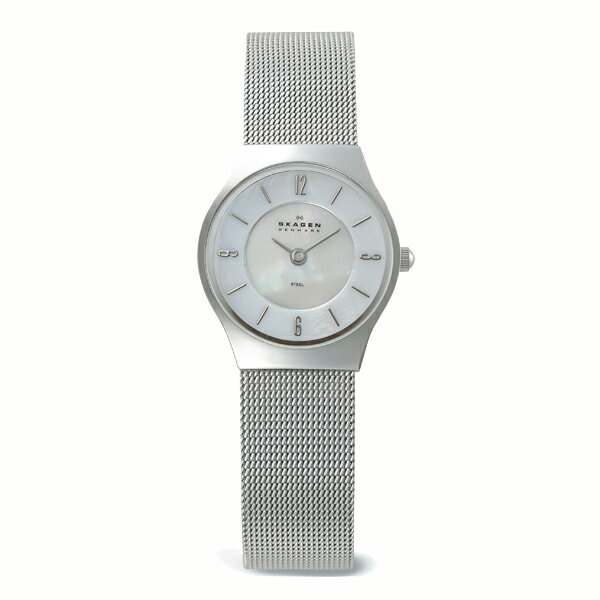 SKAGEN スカーゲン STEEL スチール 腕時計 【国内正規品】 レディース シルバー 233XSSS 【送料無料】【代引き手数料無料】