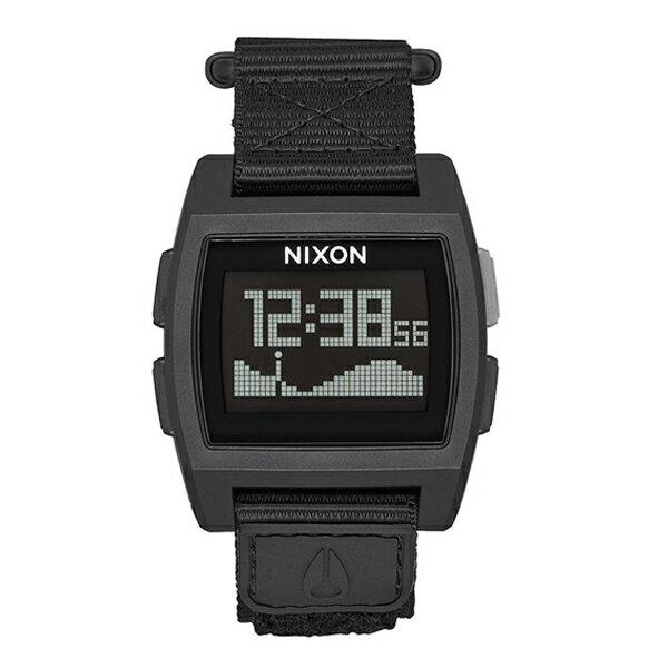 NIXON ニクソン BASE TIDE NYLON ベースタイドナイロン ALL BLACK 【国内正規品】 腕時計 NA1169001 【送料無料】【代引き手数料無料】