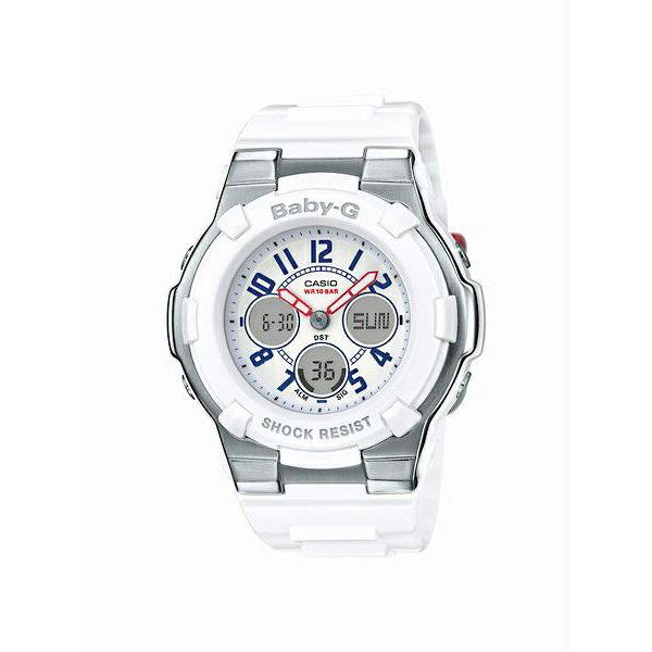 Baby-G ベビージー CASIO カシオ White Tricolor Series 【国内正規品】 腕時計 レディース BGA-110TR-7BJF 【送料無料】【代引き手数料無料】
