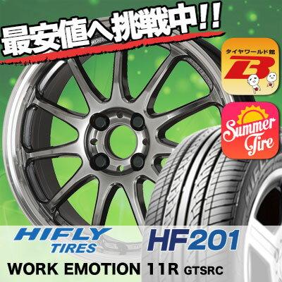 175/65R15 HIFLY ハイフライ HF201 HF201 WORK EMOTION 11R ワーク エモーション 11R サマータイヤホイール4本セット