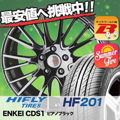 215/70R15 HIFLY ハイフライ HF201 HF201 ENKEI CREATIVE DIRECTION CDS1 エンケイ クリエイティブ ディレクション CD-S1 サマータイヤホイール4本セット