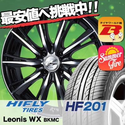 165/55R14 HIFLY ハイフライ HF201 HF201 weds LEONIS WX ウエッズ レオニス WX サマータイヤホイール4本セット