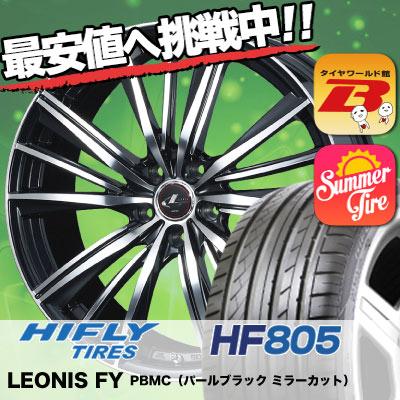 245/35R19 HIFLY ハイフライ HF805 HF805 weds LEONIS FY ウェッズ レオニス FY サマータイヤホイール4本セット