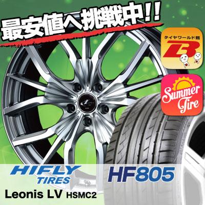 245/35R19 HIFLY ハイフライ HF805 HF805 weds LEONIS LV ウエッズ レオニス LV サマータイヤホイール4本セット