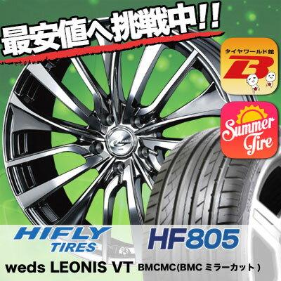 245/40R18 HIFLY ハイフライ HF805 HF805 weds LEONIS VT ウエッズ レオニス VT サマータイヤホイール4本セット