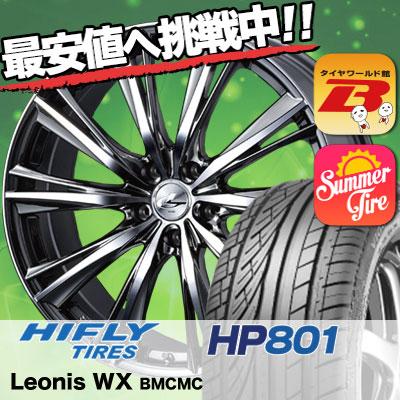 225/55R18 HIFLY ハイフライ HP801 HP801 weds LEONIS WX ウエッズ レオニス WX サマータイヤホイール4本セット