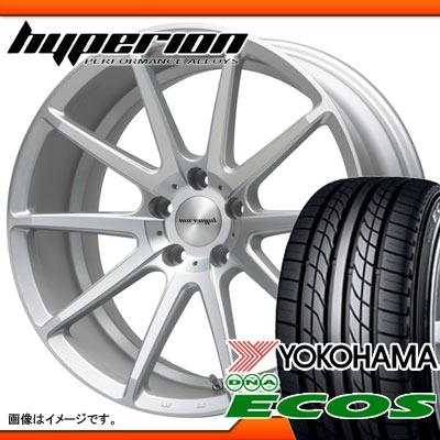 サマータイヤ 235/35R19 87W ヨコハマ DNA エコス ES300 & MLJ ハイぺリオン CVX 8.5-19 タイヤホイール4本セット