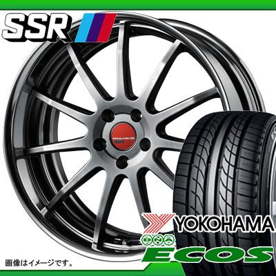 サマータイヤ 235/40R18 91W ヨコハマ DNA エコス ES300 & SSR エグゼキューター EX04 7.5-18 タイヤホイール4本セット