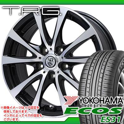 サマータイヤ 205/50R17 89V ヨコハマ エコス ES31 & TRG-BAHN XP 7.0-17 タイヤホイール4本セット
