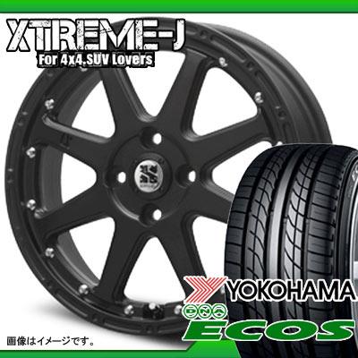 サマータイヤ 145/70R12 69S ヨコハマ DNA エコス ES300 & MLJ エクストリームJ 軽カー専用 4.0-12 タイヤホイール4本セット