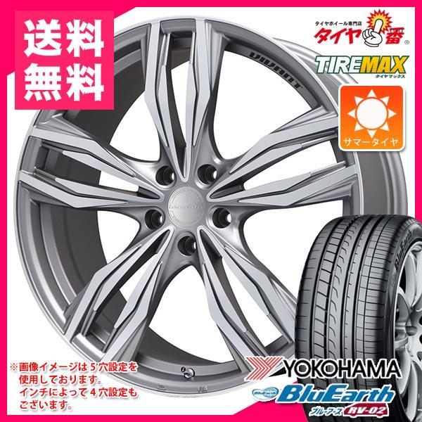 サマータイヤ 245/40R19 98W XL ヨコハマ ブルーアース RV-02 & ヴィヴァン 8.0-19 タイヤホイール4本セット
