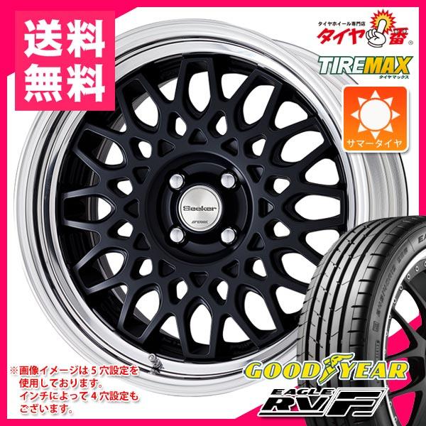 サマータイヤ 215/60R16 95H グッドイヤー イーグル RV-F & ワーク シーカー CX 7.0-16 タイヤホイール4本セット
