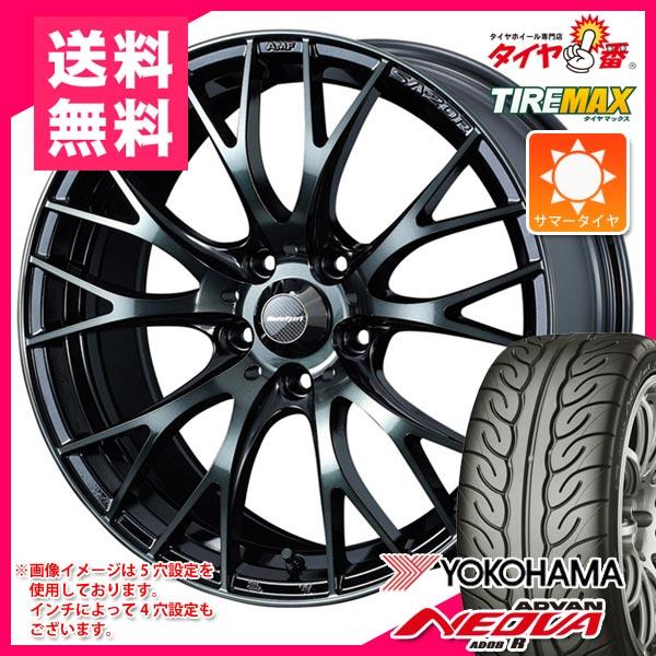 サマータイヤ 215/45R16 86W ヨコハマ アドバン ネオバ AD08 R & ウェッズスポーツ SA-20R 7.0-16 タイヤホイール4本セット