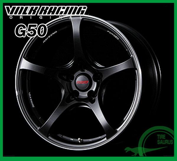 【ホイール1枚】RAYS(レイズ) VOLK RACING G5018×9.5J PCD114/5H +22 ボア径:73.1φカラー:フォーミュラシルバー/ブラッククリアー/リムエッジDC(CB)【ボルクレーシング G50】