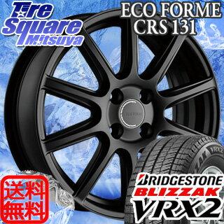 ブリヂストン ブリザック VRX2 新商品 165/65R15ブリヂストン エコフォルム_CRS131 15 X 5 +39 4穴 100