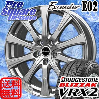 ブリヂストン ブリザック VRX2 新商品 205/65R15HotStuff ExceederE02 15 X 6 +43 5穴 114.3