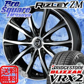 ブリヂストン ブリザック VRX2 新商品 205/70R15WEDS ライツレー ZM 15 X 6 +43 5穴 100