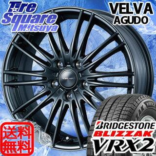 ブリヂストン ブリザック VRX2 新商品 205/65R15WEDS ヴェルバ AGUDO 15 X 6 +53 5穴 114.3