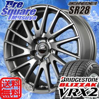ブリヂストン ブリザック VRX2 新商品 205/65R15MANARAY SCHNEIDER SR28 15 X 6 +52 5穴 114.3