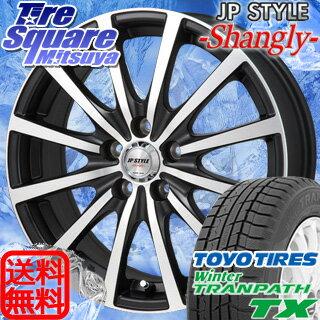 TOYO WINTER TRANPATH TX 205/65R15MONZA JP STYLE Shangly 15 X 6 +53 5穴 114.3