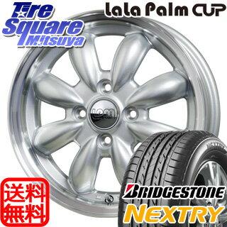 ブリヂストン NEXTRY ネクストリー 限定特価 185/60R15HotStuff LaLa Palm CUP 15 X 5.5 +45 4穴 100