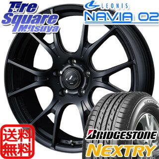 ブリヂストン NEXTRY ネクストリー 在庫限り 215/55R17WEDS Leonis_NAVIA02 17 X 7 +55 5穴 114.3