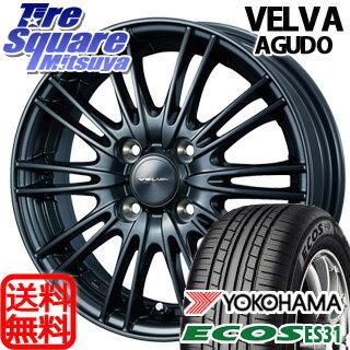 YOKOHAMA ECOS ES31 175/70R14WEDS ヴェルバ AGUDO 14 X 5.5 +50 4穴 100