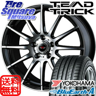 YOKOHAMA ブルーアース・エース AE50Z 205/65R16WEDS TEAD TRICK 16 X 6.5 +40 5穴 114.3
