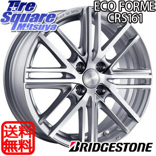 DUNLOP LEMANS5 185/60R15ブリヂストン ECO FORME CRS 161 15 X 5.5 +42 4穴 100