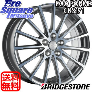 DUNLOP LEMANS5 205/55R16ブリヂストン ECO FORME CRS 171 16 X 6.5 +40 5穴 100