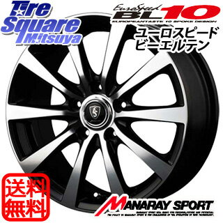 DUNLOP エナセーブ RV504 175/60R16MANARAY EUROSPEED BL10 16 X 6 +45 5穴 100