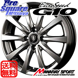 TOYOTIRES TEO plus 175/70R13MANARAY EUROSPEED G10 13 X 5 +35 4穴 100