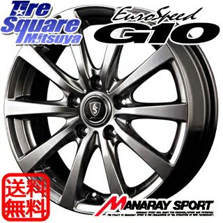 DUNLOP エナセーブ EC202 LTD 205/55R16MANARAY EUROSPEED G10 平座仕様 16 X 6.5 +53 5穴 114.3