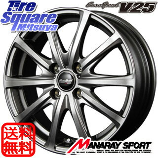TOYOTIRES NANOENERGY3plus 185/55R16MANARAY EuroSpeed V25 16 X 6 +43 4穴 100