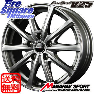 ブリヂストン Playz PX 225/45R17MANARAY EuroSpeed V25 17 X 7 +48 5穴 100