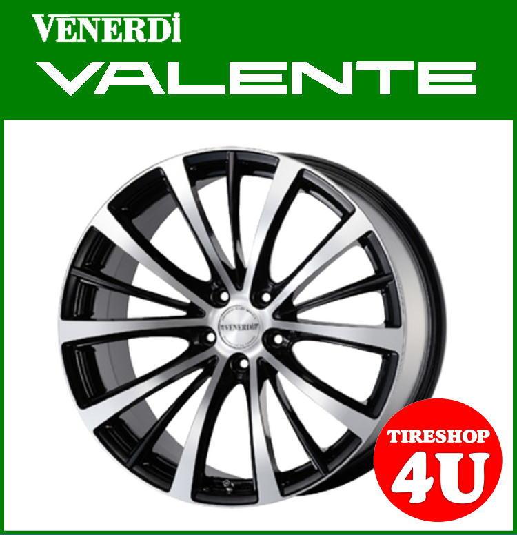19インチVENERDI VALENTE(ヴェネルディ ヴァレンテ) 19×8.5J 5/114.3+38 ブラックポリッシュNANKANG 225/35・235/35・225/40・225/45・245/40 20系アルファード、E51エルグランドなど 新品タイヤ・アルミホイール4本セット価格 コスミック