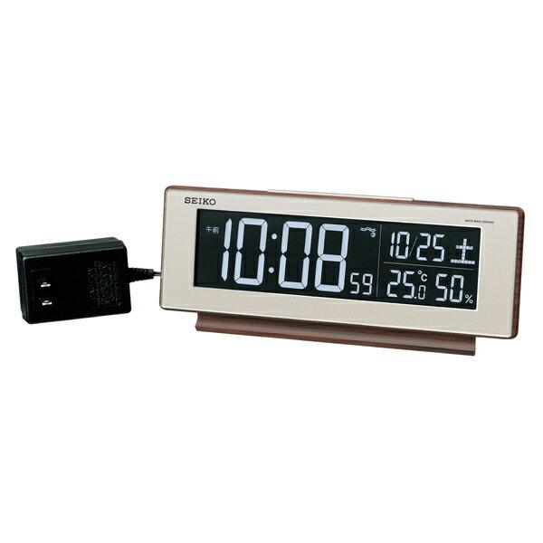 最安値 【お取寄せ品】セイコー 電波デジタル目覚まし時計 DL211B