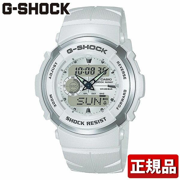 CASIO カシオ G-SHOCK Gショック ジーショック Gスパイク G-SPIKE G-300LV-7AJF ホワイト 白 国内正規品 国内モデル メンズ 腕時計 防水 時計 誕生日プレゼント ギフト