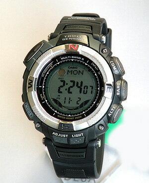 ★送料無料 CASIO PROTREK プロトレック PRO TREK PRO TREK カシオ 腕時計 時計 プロトレック PRW-1500-1 カシオ 腕時計 海外モデル 薄型タフ ソーラー 電波時計 方位・気圧・高度・温度計測 誕生日プレゼント ギフト