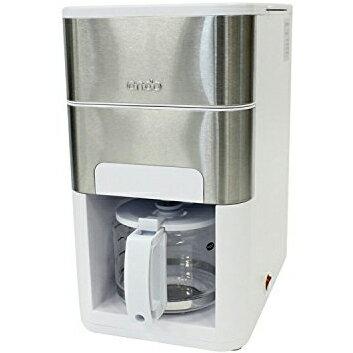 【長期保証付】丸隆(マルタカ) 石臼式全自動コーヒーメーカー Ondo(ホワイト) ON-01-WH
