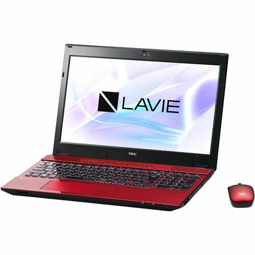 【長期保証付】NEC PC-NS750HAR(クリスタルレッド) LAVIE Note Standard 15.6型液晶